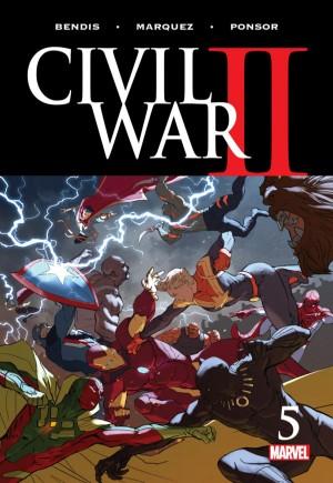 Civil War II (2016)#5A