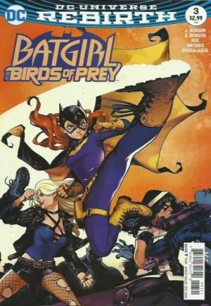 Batgirl and the Birds of Prey (2016-2018)#3B