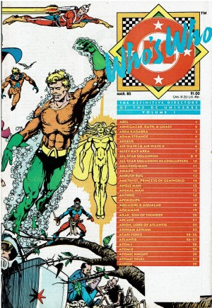 Who's Who: The Definitive Directory of the DC Universe (1985-1987) #1B