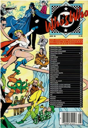 Who's Who: The Definitive Directory of the DC Universe (1985-1987) #18A