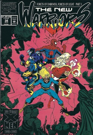 New Warriors (1990-1996) #34B