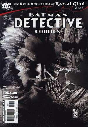 Detective Comics (1937-2011, 2016-Present)#838A
