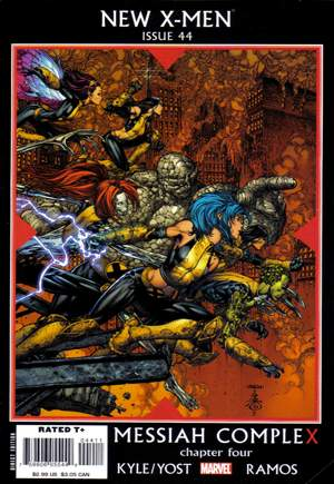 New X-Men (2006-2008)#44A