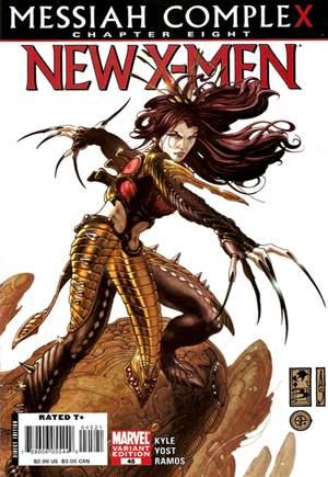 New X-Men (2006-2008)#45B