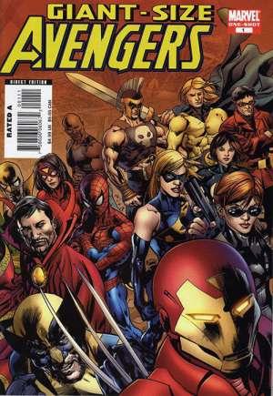 Giant-Size Avengers (2008)#1