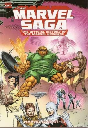 Essential Marvel Saga (2008-2009)#TP Vol 1