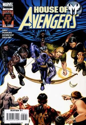 House of M: Avengers#5