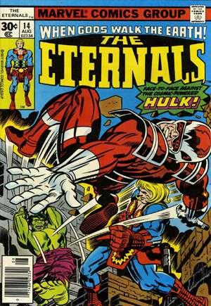 Eternals (1976-1978)#14A