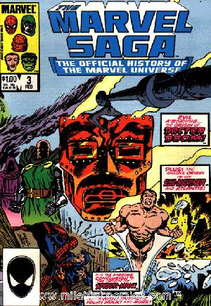 Marvel Saga (1985-1987)#3B