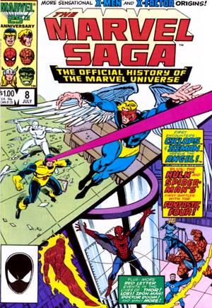 Marvel Saga (1985-1987)#8
