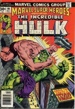 Marvel Super-Heroes (1967-1982)#60