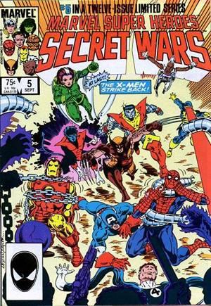 Marvel Super-Heroes Secret Wars (1984-1985)#5B