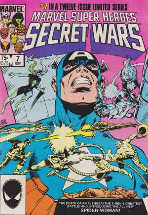 Marvel Super-Heroes Secret Wars (1984-1985) #7B