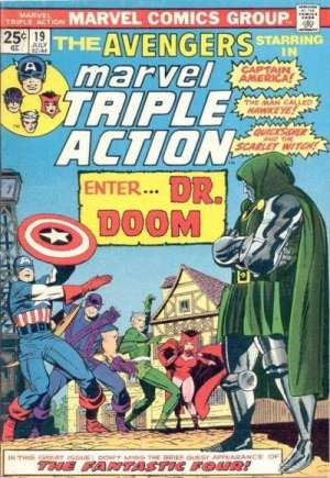 Marvel Triple Action (1972-1979) #19A