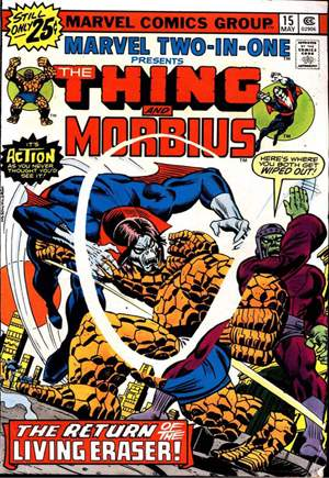 Marvel Two-In-One (1974-1983) #15A