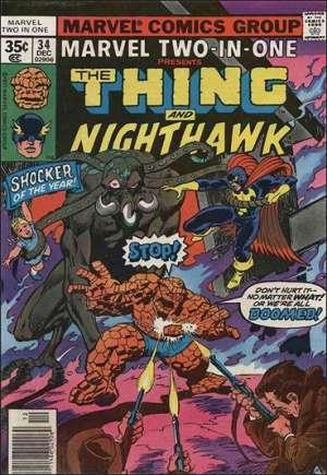Marvel Two-In-One (1974-1983) #34A
