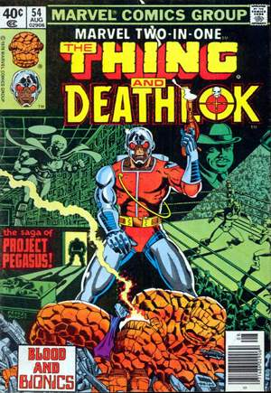 Marvel Two-In-One (1974-1983) #54A