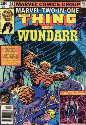 Marvel Two-In-One (1974-1983)#57A