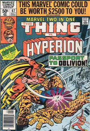 Marvel Two-In-One (1974-1983) #67A