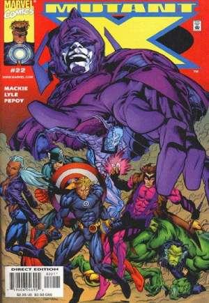 Mutant X (1998-2001)#22
