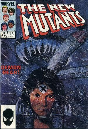 New Mutants (1983-1991)#18B