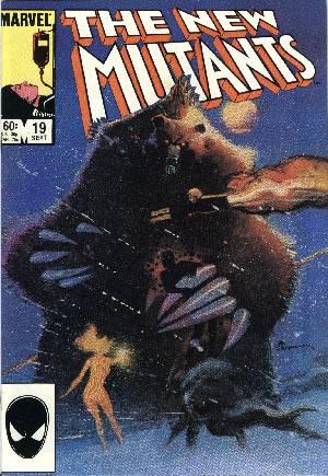 New Mutants (1983-1991)#19B