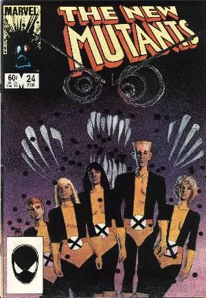 New Mutants (1983-1991)#24B