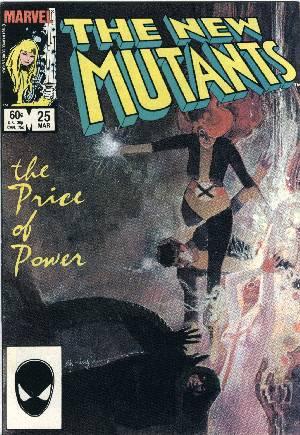 New Mutants (1983-1991)#25B