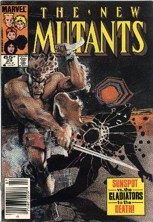 New Mutants (1983-1991)#29A