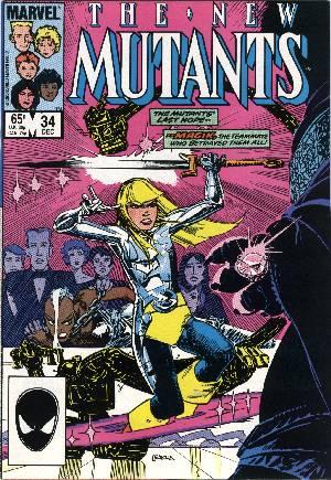 New Mutants (1983-1991)#34B