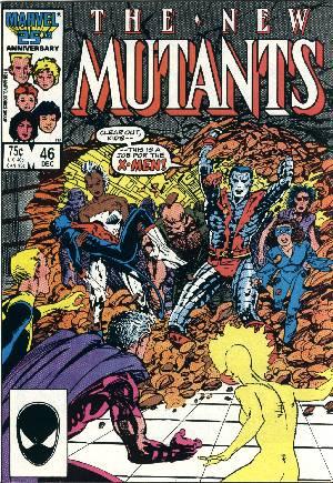 New Mutants (1983-1991)#46B