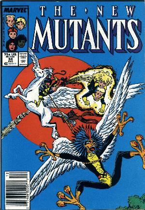 New Mutants (1983-1991)#58A
