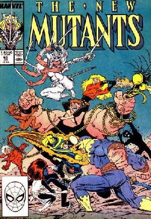 New Mutants (1983-1991)#65B