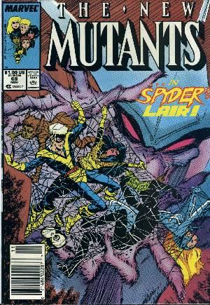 New Mutants (1983-1991)#69A