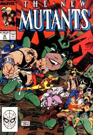 New Mutants (1983-1991)#78B