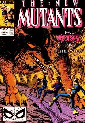 New Mutants (1983-1991)#82B
