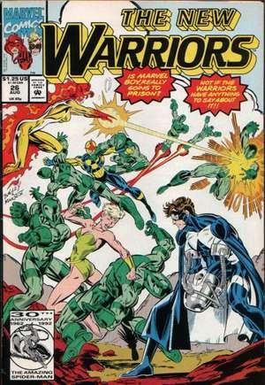 New Warriors (1990-1996)#26