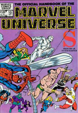 Official Handbook of the Marvel Universe (1983-1984) #10B