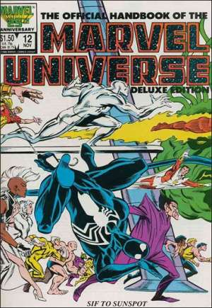 Official Handbook of the Marvel Universe Deluxe Edition (1985-1988) #12