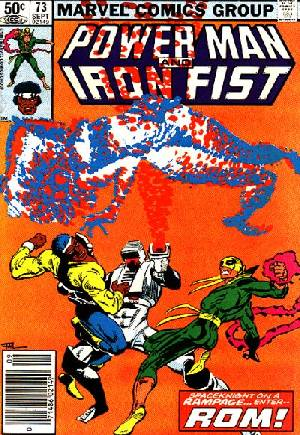 Power Man and Iron Fist (1978-1986) #73A