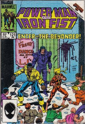 Power Man and Iron Fist (1978-1986) #121B