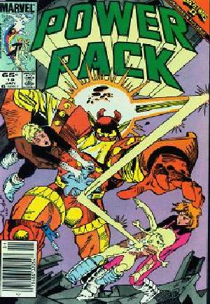 Power Pack (1984-1991) #18A