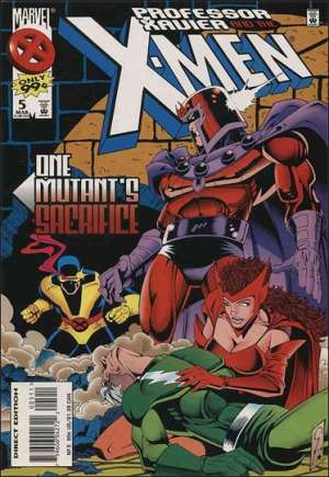 Professor Xavier and the X-Men (1995-1997) #5