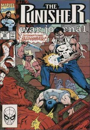 Punisher: War Journal (1988-1995) #24