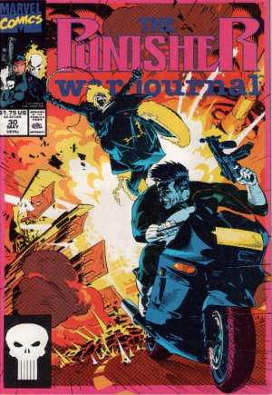 Punisher: War Journal (1988-1995) #30B