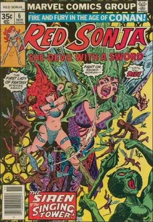 Red Sonja, She-Devil With A Sword (1977-1979)#6