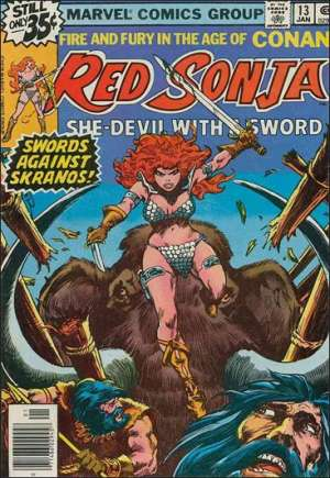 Red Sonja, She-Devil With A Sword (1977-1979)#13