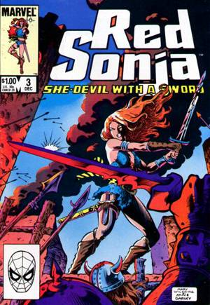 Red Sonja, She-Devil With A Sword (1983-1986) #3B