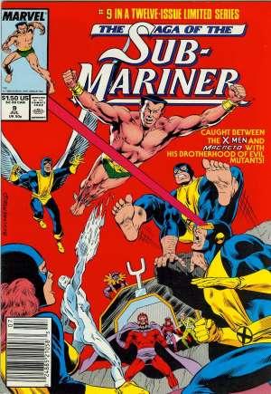 Saga of the Sub-Mariner (1988-1989)#9