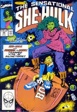 Sensational She-Hulk (1989-1994)#14A
